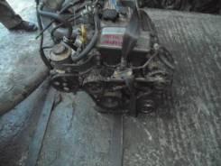 Двигатель в сборе. Toyota Carina, AT211 Двигатель 7AFE