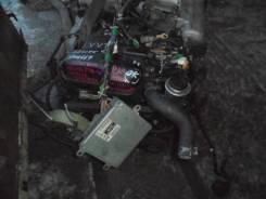 Двигатель в сборе. Toyota Crown, JZS155 Двигатель 2JZGE