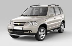 Накладка на порог. Chevrolet Niva, 21236 Двигатель BAZ2123