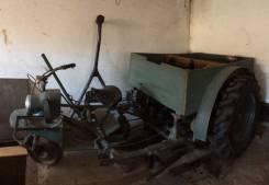 Самодельный мини трактор. 1 000куб. см.