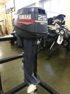 Yamaha. 25,00л.с., 2-тактный, бензиновый, нога L (508 мм), 2000 год год
