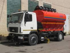Коммаш КО-806-20. Комбинированная дорожная машина КО-806-20 МАЗ 5340В2, 6 650куб. см.