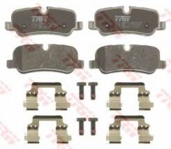 Колодки тормозные дисковые | зад | TRW GDB1632