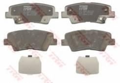 Колодки тормозные дисковые | зад | TRW GDB3494