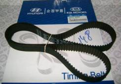 Ремень грм Hyundai / Kia (Mobis) 24312-37500 Hyundai / Kia (Mobis): 24312-37500 24312-37400 24312-37100 Hyundai Coupe (Gk). Hyundai Grandeur (Xg)