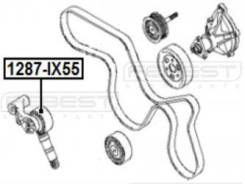 Ролик натяжной Febest 1287-IX55 Hyundai / Kia (Mobis): 25281-3A000 252813A100 Hyundai Ix55. Hyundai Veracruz. Kia Borrego. Kia Mohave