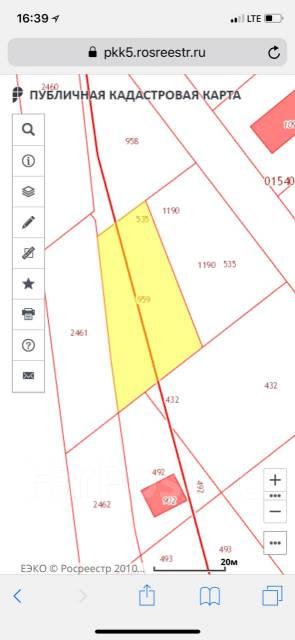 Участок ИЖС, собственность, 10 соток. 957кв.м., собственность, электричество, вода, от частного лица (собственник)