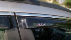 Дефлекторы боковых окон к-т (хромированный молдинг) V-Star CHR18127 Opel Astra J 5dr wagon 10- V-Star CHR18127