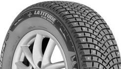 Michelin Latitude X-Ice North 2+. Зимние, шипованные, 2018 год, без износа, 4 шт