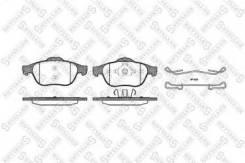 Колодки дисковые передние Stellox 854000B-SX Renault: 7701206599 7701206747 7701207615 7701207977 7701208182 7701209810 7702207615 23245 23247
