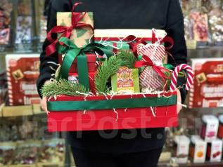Новогодние подарки! Вкусные наборы! Чай, Бельгийский Шоколад, Сладости