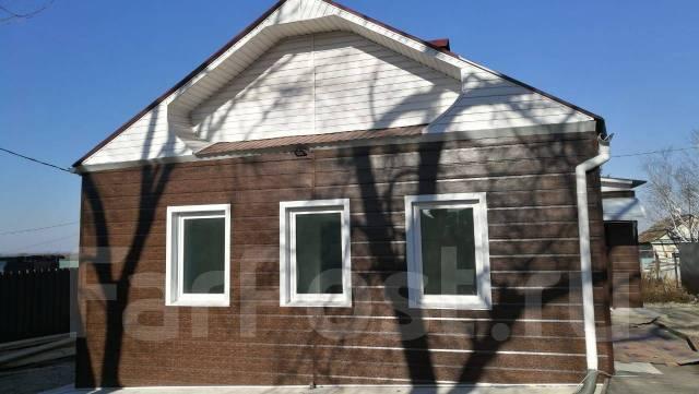 Дом с участком. Улица Южная 9а, р-н Хенина сопка, площадь дома 75кв.м., централизованный водопровод, электричество 15 кВт, отопление твердотопливное...