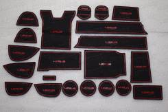 Коврики. Lexus RX350 Lexus RX450h, GYL20W, GYL25, GYL25W Lexus RX200t Двигатели: 2GRFXE, 2GRFXS