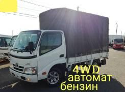 Toyota Dyna. 4WD, автомат + легкосъемный тент, 2 000куб. см., 1 500кг., 4x4