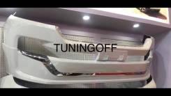 Тюнинг переднего бампера Toyota Land Cruiser 200