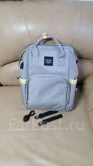 2003cd15efcb Сумка-рюкзак с USB-портом + кабель USB для мам - Коляски и переноски ...