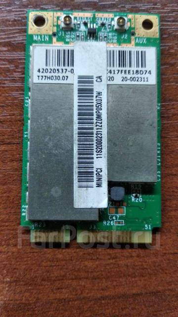 Wi-Fi модуль для ноутбука Broadcom BCM94312MCG miniPCI-E - Сетевое и