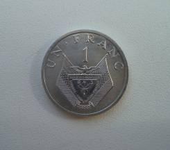Руанда, 1 франк 1985 год