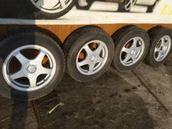 """Комплект литых колес 195/65R-15 с зимней резиной Autobacs Nord Trek. 6.0x15"""" 5x100.00, 5x114.30 ET48 ЦО 73,0мм."""
