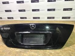 Крышка багажника. Mercedes-Benz S-Class, V220, W220, VV220 Двигатели: M112E37, M112E32, M113E55ML, OM648DE32LA, OM613DE32LA, M113E43, OM628DE40LA, M13...