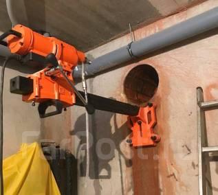 Услуги алмазного бурения (сверления) отверстий в бетоне и др.