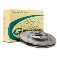 Диск тормозной вентилируемый, G-BRAKE GR20834
