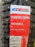 GT Radial Champiro IcePro. Зимние, шипованные, 2017 год, без износа, 4 шт. Под заказ