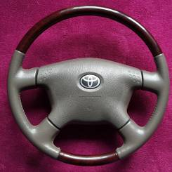 Руль. Toyota: Crown, Aristo, Camry Gracia, Granvia, Gaia, Corolla, Tundra, Chaser, Grand Hiace, Harrier, Celsior, Hilux Surf, Cresta, Land Cruiser Pra...