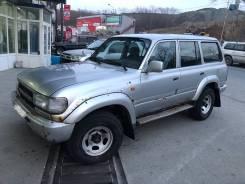 Toyota Land Cruiser. ПТС 80, 1995гв, 1HZ, дизель, левый руль