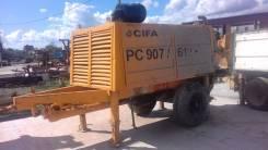 Cifa PC 907/612. Стационарный бетононасос CIFA PC 907/612 D8 2013 г. в.