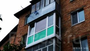 Установка окон балконов лоджий