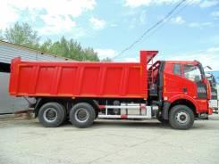FAW CA3250P66K2T1E4. Продается 20 тонный самосвал 6х4 FAW 3250, 2016 года, 8 600куб. см., 20 000кг., 6x4