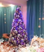 Новогодние дизайнерские елки от декоратора!