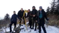 """Гора Туманная с палаткой """"Зима"""" 15-16 декабря."""