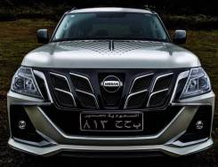 Обвес кузова аэродинамический. Nissan Patrol, SUV, Y62. Под заказ