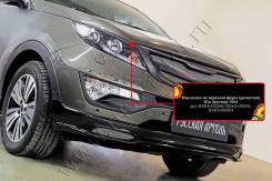 Защита фар прозрачная. Kia Sportage