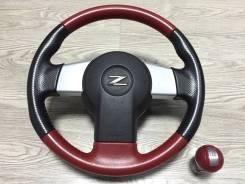 Руль. Infiniti G35, CV35, V35 Nissan Fairlady Z, Z33, HZ33 Nissan 350Z, Z33 Chery Bonus VQ35DE, VQ35HR