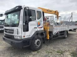 Soosan SCS335. Продам бортовой грузовик Daewoo Novus с КМУ Soosan SCS 335, 5 890куб. см., 4x2