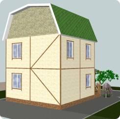 Визуализация фасадов МКД, частных домов.