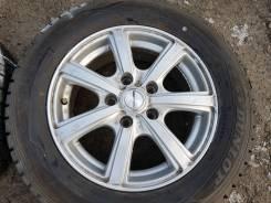 """Зимние колёса 195/65R15 Dunlop Winter Maxx. 6.5x15"""" 5x114.30 ET45 ЦО 73,1мм."""