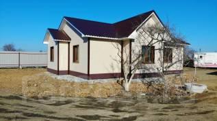 Продаётся новый коттедж в отличном районе. Улица Портовая 15, р-н Орбита, площадь дома 102кв.м., скважина, электричество 15 кВт, отопление электриче...