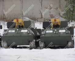 ПромБурАвто. Буровая установка УРБ-2А2 на шасси МТЛБ (Мтлбу), 5 000кг. Под заказ