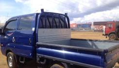 Kia Bongo III. Продаётся двухкабинный бортовой грузовик KIA Bongo lll, 2 900куб. см., 1 000кг., 4x4