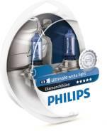 Комплект ламп 12V H4 60/55W Dimond Vision Philips 12342DVS2