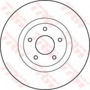 Тормозной диск Trw DF4989S Nissan: 40206ET01A. Renault: 402069828R 40206JY01A Nissan Dualis (J10 Jj10). Nissan Qashqai / Qashqai +2 (J10 Jj10).