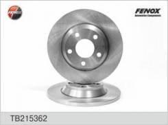 Тормозной диск Fenox TB215362 Vag: 8D0615301A 8DO615301A Audi A4 (8d2 B5). Audi A4 Avant (8d5 B5). Audi A4 Седан (8d2 B5)