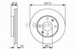 Тормозной диск Bosch 0986479S03 Hyundai / Kia (Mobis): 5171217000 517122D300 517122D310 517122F000 BD1899 Hyundai Avante Седан (Xd). Hyundai Elantra