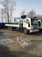 Аренда грузовика с краном 10т