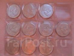 Германия 10 х 2 марок 1937-1939 г. П. фон Гинденбург. серебро .