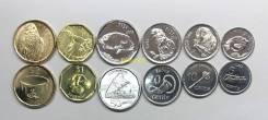Фиджи - набор монет (6шт) 5,10,20,50 центов, 1,2 доллара 2012 UNC